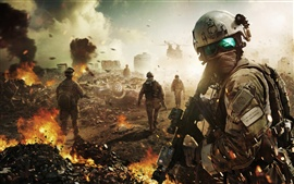 Vorschau des Hintergrundbilder Ghost Recon: Future Soldier, Tom Clancy-Software