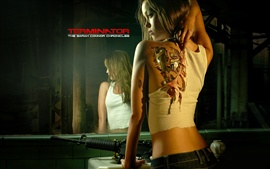 Preview wallpaper Summer Glau, Terminator, robot girl