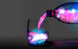 Abstract colors light splash cup Wallpapers Pictures Photos Images