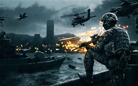 Preview wallpaper Battlefield army game HD