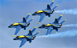 Blue Angels самолета