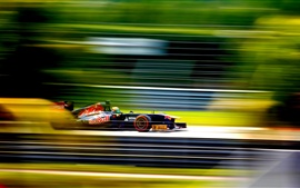 Fórmula Uno, la carrera de F1, de alta velocidad