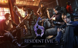 Preview wallpaper Resident Evil 6 game HD