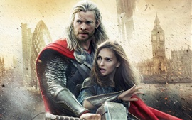 Thor: The Dark World, 2013 movie widescreen