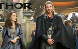 Thor: The Dark World, joyful smile