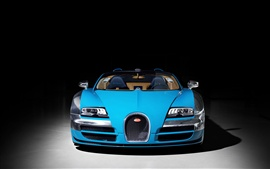 Preview wallpaper 2013 Bugatti Veyron 16.4 Grand Sport Vitesse supercar