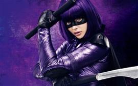 Preview wallpaper 2013 movie, Chloe Moretz in Kick-Ass 2