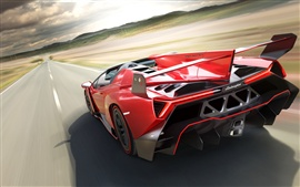 Preview wallpaper 2014 Lamborghini Veneno Roadster supercar