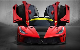 Preview wallpaper DMC LaFerrari FXXR supercar doors is opened