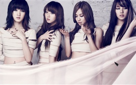 Preview wallpaper Korea music girls, miss A 05