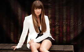 Preview wallpaper Lea Michele 01