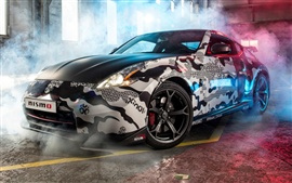 Preview wallpaper Nissan 370Z supercar Gumball 3000 Rally