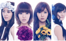 Preview wallpaper Rainbow Korean music girls 03
