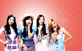 Preview wallpaper SISTAR four girls smile