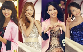 Preview wallpaper SISTAR girls beautiful photo