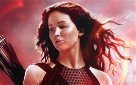 Preview wallpaper The Hunger Games: Catching Fire, Jennifer Lawrence