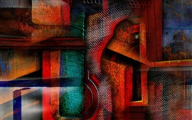 Preview wallpaper Abstraction color shape
