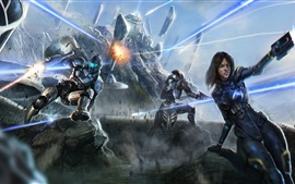 Preview wallpaper Art pictures, Mass Effect