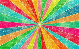 Preview wallpaper Colorful lines, stripes rays, color, rainbow