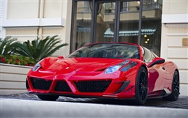 Preview wallpaper Ferrari 458 Italia red supercar