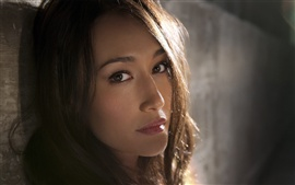 Preview wallpaper Maggie Q 01