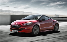 Preview wallpaper 2014 Peugeot RCZ R red car