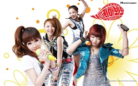 Preview wallpaper 2NE1 korea music girls 02