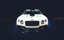 Preview wallpaper Bentley Continental GT3 Concept race car, front view