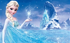 Preview wallpaper Frozen, Disney 2013 movie, Princess Elsa
