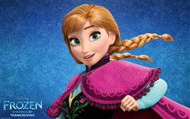 Preview wallpaper Frozen, Walt Disney movie 2013