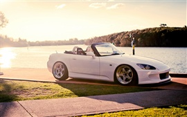 Preview wallpaper Honda S2000 white supercar