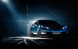 Preview wallpaper Hyundai Genesis Coupe, blue car
