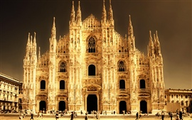 Preview wallpaper Italy, Milan, Cathedral