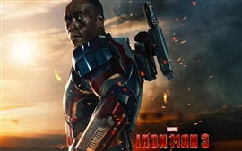 Preview wallpaper James Rhodes in Iron Man 3