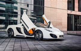 Preview wallpaper McLaren MP4-12C GT Spyder supercar