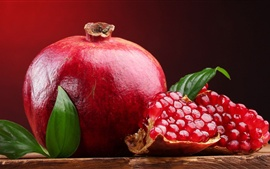 Preview wallpaper Sweet red fruit, pomegranate