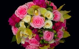 Букет роз, красивые цветы