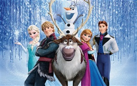 Preview wallpaper Disney cartoon movie, Frozen