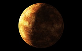 Preview wallpaper Exoplanet, constellation Lyra, planet