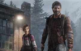 Preview wallpaper Father and daughter, The Last of US