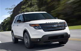 Preview wallpaper Ford Explorer car