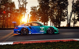 Preview wallpaper Porsche 911 GT3 RSR sports car