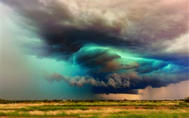 USA, Arizona, storm clouds, sky