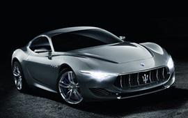 Preview wallpaper 2014 Maserati Alfieri Concept supercar
