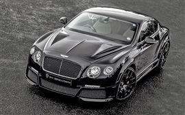 Preview wallpaper Bentley Continental GT ONYX supercar front view