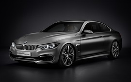 Preview wallpaper Bmw 4 Series Coupe Concept car