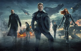 Preview wallpaper Captain America 2