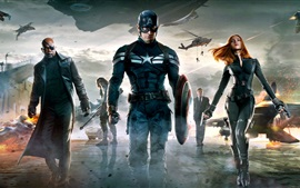 Preview wallpaper Captain America: The Winter Soldier HD