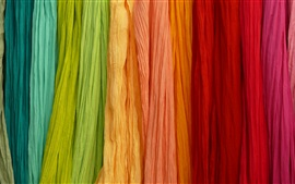 Colorful colors, rainbow, cloth