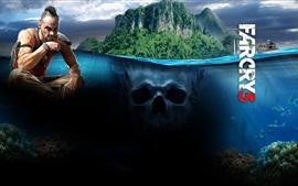 Aperçu fond d'écran Far Cry 3, mer, île, Ubisoft jeu